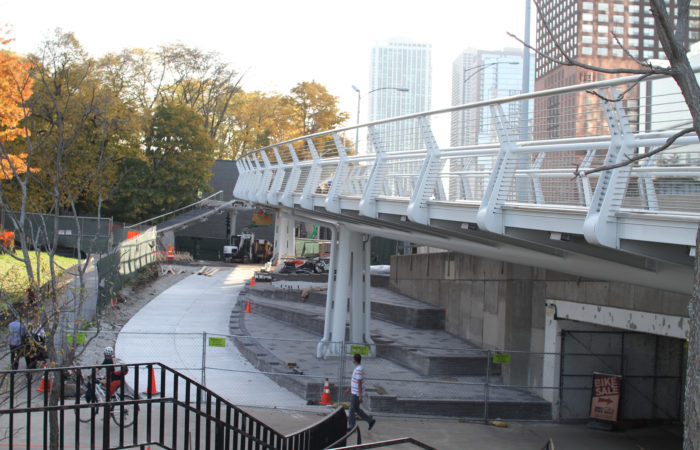 featured image Navy Pier Flyover on track to be complete in 2018