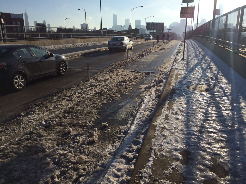 featured image Snow in your bike lane? Here's what you can do