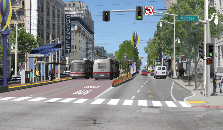 featured image San Francisco gets first BRT project off the ground